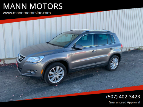 2011 Volkswagen Tiguan for sale at MANN MOTORS in Albert Lea MN