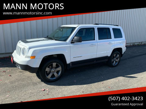2016 Jeep Patriot for sale at MANN MOTORS in Albert Lea MN