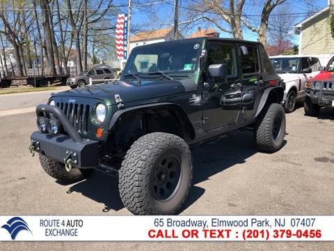 2010 Jeep Wrangler Unlimited for sale in Elmwood Park, NJ
