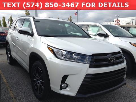 2018 Toyota Highlander for sale in South Bend, IN