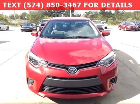 2015 Toyota Corolla for sale in South Bend, IN