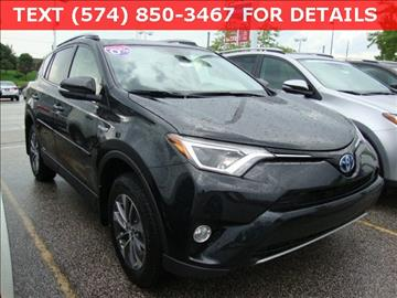 2017 Toyota RAV4 Hybrid for sale in South Bend, IN