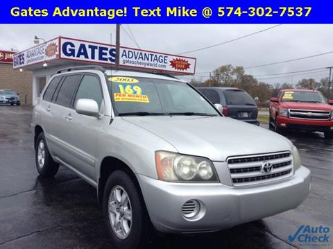 2003 Toyota Highlander for sale in Mishawaka, IN