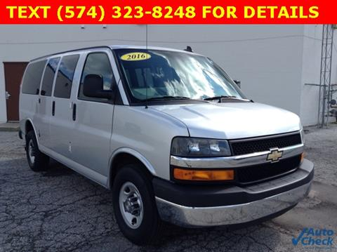 2016 Chevrolet Express Passenger for sale in Mishawaka IN