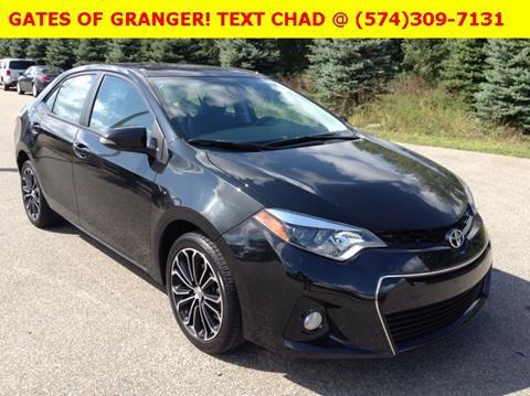 2015 Toyota Corolla for sale in Granger IN