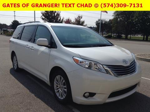 2016 Toyota Sienna for sale in Granger IN