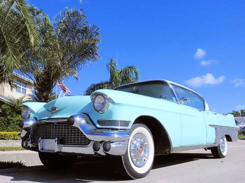 1957 Cadillac Fleetwood for sale at M.D.V. INTERNATIONAL AUTO CORP in Fort Lauderdale FL