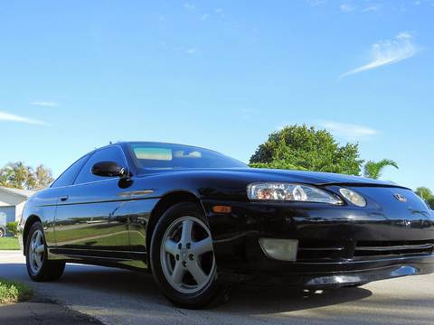 1999 Lexus SC 300 for sale at M.D.V. INTERNATIONAL AUTO CORP in Fort Lauderdale FL