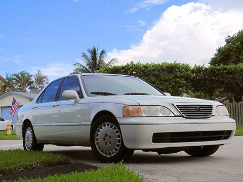 1997 Acura RL for sale at M.D.V. INTERNATIONAL AUTO CORP in Fort Lauderdale FL