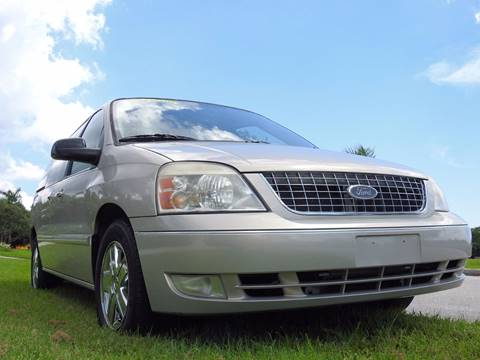 2006 Ford Freestar for sale at M.D.V. INTERNATIONAL AUTO CORP in Fort Lauderdale FL