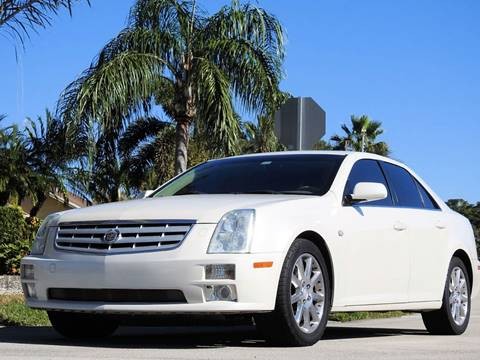 2005 Cadillac STS for sale at M.D.V. INTERNATIONAL AUTO CORP in Fort Lauderdale FL