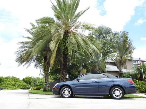 2008 Chrysler Sebring for sale at M.D.V. INTERNATIONAL AUTO CORP in Fort Lauderdale FL