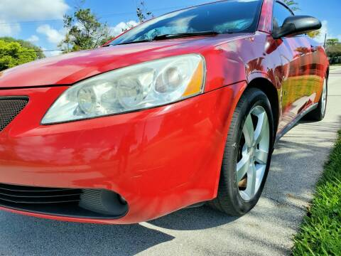 2007 Pontiac G6 GT for sale at M.D.V. INTERNATIONAL AUTO CORP in Fort Lauderdale FL
