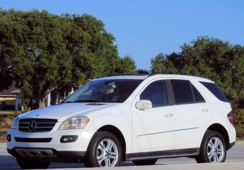 2007 Mercedes-Benz M-Class ML 320 CDI for sale at M.D.V. INTERNATIONAL AUTO CORP in Fort Lauderdale FL