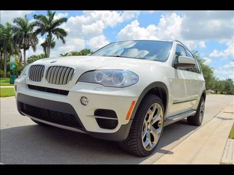 2012 BMW X5 for sale at M.D.V. INTERNATIONAL AUTO CORP in Fort Lauderdale FL
