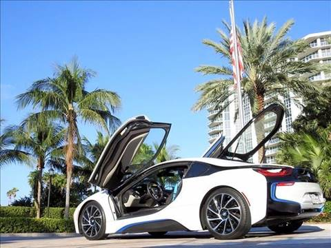2015 BMW i8 for sale at M.D.V. INTERNATIONAL AUTO CORP in Fort Lauderdale FL