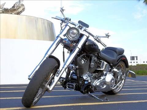 2004 Harley-Davidson Springer for sale at M.D.V. INTERNATIONAL AUTO CORP in Fort Lauderdale FL