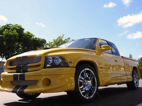 1999 Dodge Dakota for sale at M.D.V. INTERNATIONAL AUTO CORP in Fort Lauderdale FL