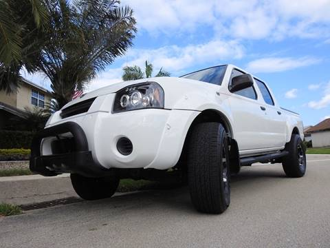 2004 Nissan Frontier for sale at M.D.V. INTERNATIONAL AUTO CORP in Fort Lauderdale FL