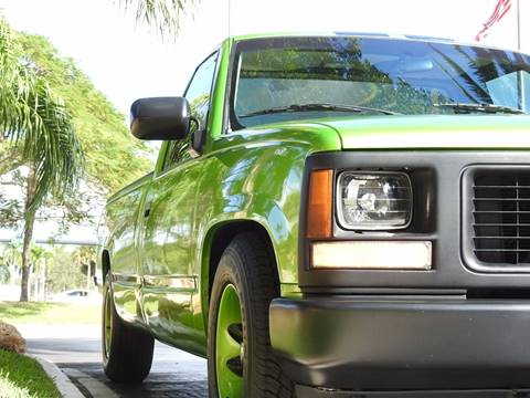 1994 GMC Sierra 1500 for sale at M.D.V. INTERNATIONAL AUTO CORP in Fort Lauderdale FL