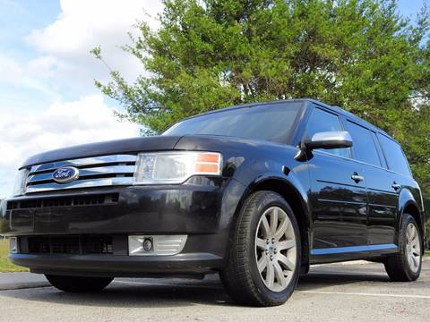 2012 Ford Flex for sale at M.D.V. INTERNATIONAL AUTO CORP in Fort Lauderdale FL
