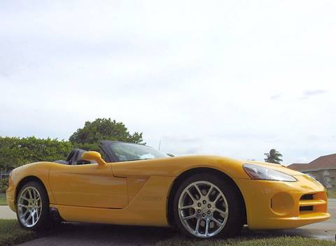 2005 Dodge Viper for sale at M.D.V. INTERNATIONAL AUTO CORP in Fort Lauderdale FL