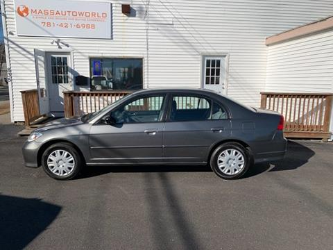 2005 Honda Civic for sale in Abington, MA