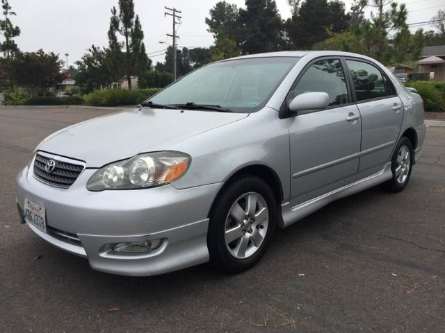 2008 Toyota Corolla for sale at Americar Auto Expert in San Diego CA