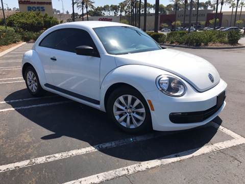 2014 Volkswagen Beetle for sale at Americar Auto Expert in San Diego CA