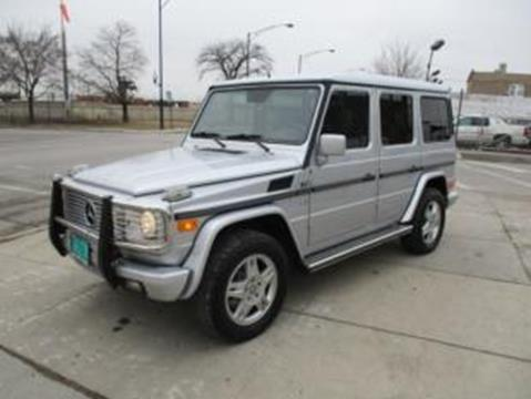 2002 Mercedes-Benz G-Class for sale in Chicago, IL