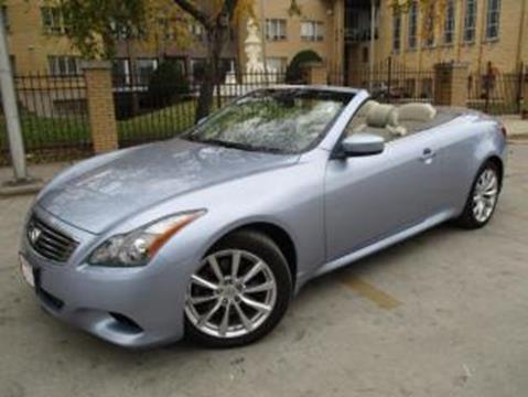 2011 Infiniti G37 Convertible for sale in Chicago, IL