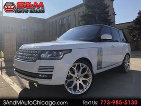 2016 Land Rover Range Rover for sale in Chicago, IL