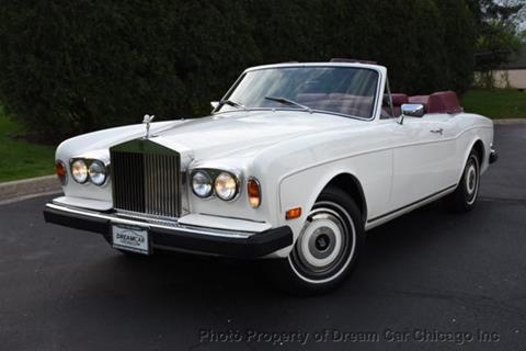 1980 Rolls-Royce Corniche for sale in Villa Park, IL
