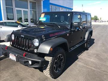 2016 Jeep Wrangler Unlimited for sale in Yerington, NV