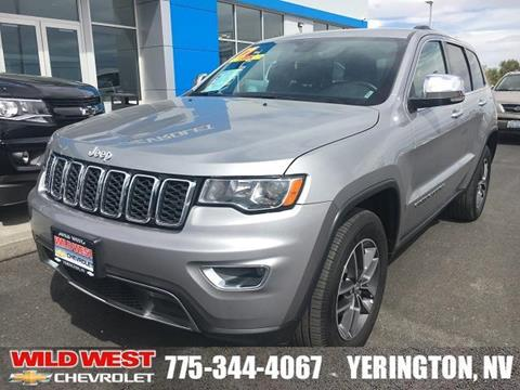 2017 Jeep Grand Cherokee for sale in Yerington, NV