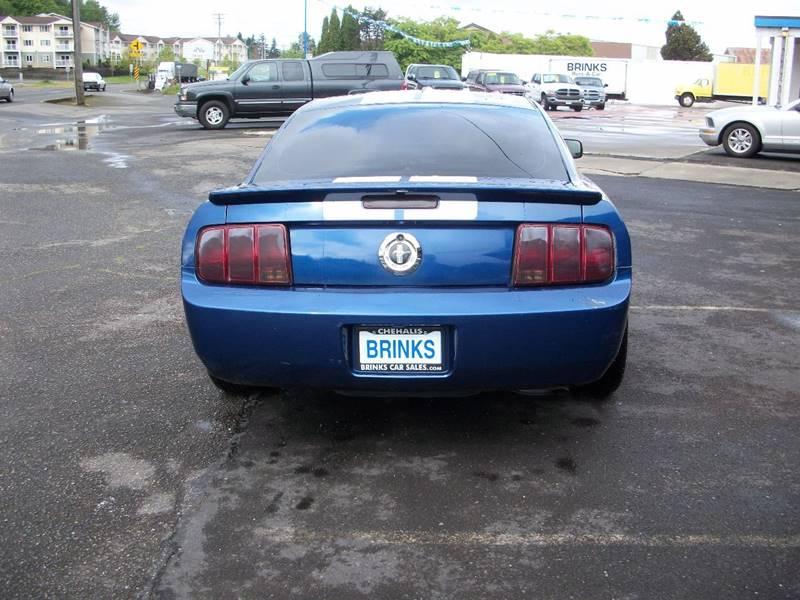 2007 Ford Mustang V6 Premium 2dr Coupe - Chehalis WA