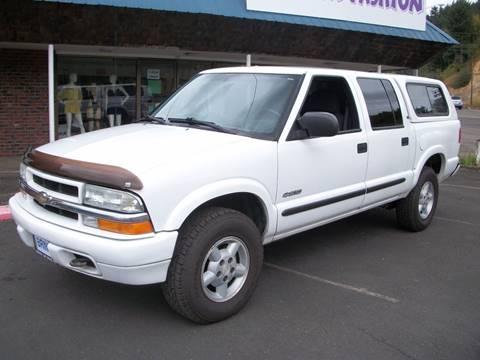 2004 Chevrolet S-10 for sale in Chehalis, WA
