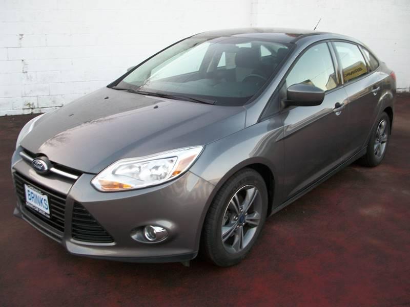 2012 ford focus se 4dr sedan in chehalis wa - brinks car sales
