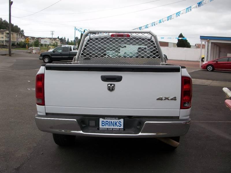 2006 Dodge Ram Pickup 1500 ST 4dr Quad Cab 4WD SB - Chehalis WA
