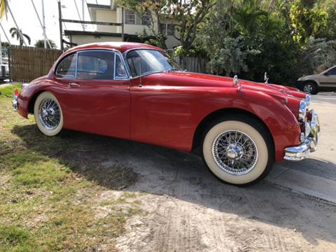 1957 Jaguar XK-Series for sale at Premier Auto Group of South Florida in Wellington FL