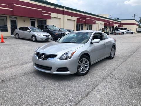 2012 Nissan Altima for sale at Premier Auto Group of South Florida in Wellington FL