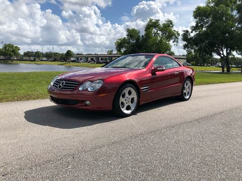 2006 Mercedes-Benz SL-Class for sale at Premier Auto Group of South Florida in Wellington FL