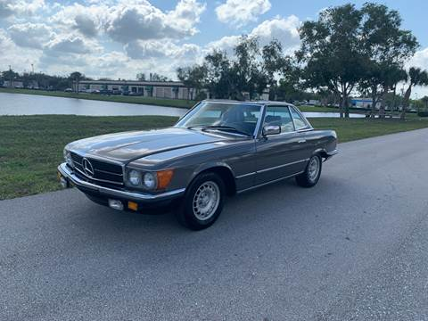 1985 Mercedes-Benz SL-Class for sale at Premier Auto Group of South Florida in Wellington FL