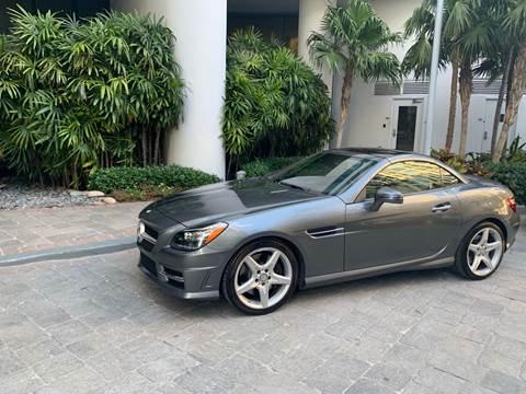 2016 Mercedes-Benz SLK for sale at Premier Auto Group of South Florida in Wellington FL