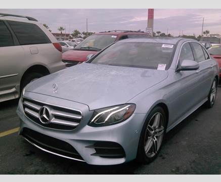 2018 Mercedes-Benz E-Class for sale at Premier Auto Group of South Florida in Wellington FL