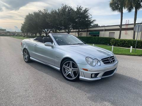 2007 Mercedes-Benz CLK for sale at Premier Auto Group of South Florida in Wellington FL