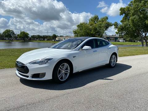 2015 Tesla Model S for sale at Premier Auto Group of South Florida in Wellington FL