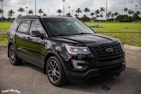 2016 Ford Explorer for sale at Premier Auto Group of South Florida in Wellington FL
