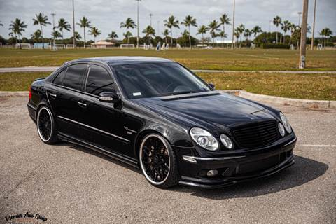 2003 Mercedes-Benz E-Class for sale at Premier Auto Group of South Florida in Wellington FL