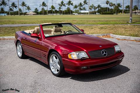 2001 Mercedes-Benz SL-Class for sale at Premier Auto Group of South Florida in Wellington FL
